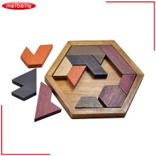 Durable Fashion Geometry Wooden Jigsaw Puzzle Education Children Kids Toys For Tots Baby Toy brinquedo educativo jouet enfant(China)