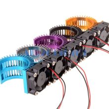 RC 1/10 540 550 Motor Heat Sink With Cooling Fan 03300 3650 3660 3674 HSP 03011 107051 7014(China)