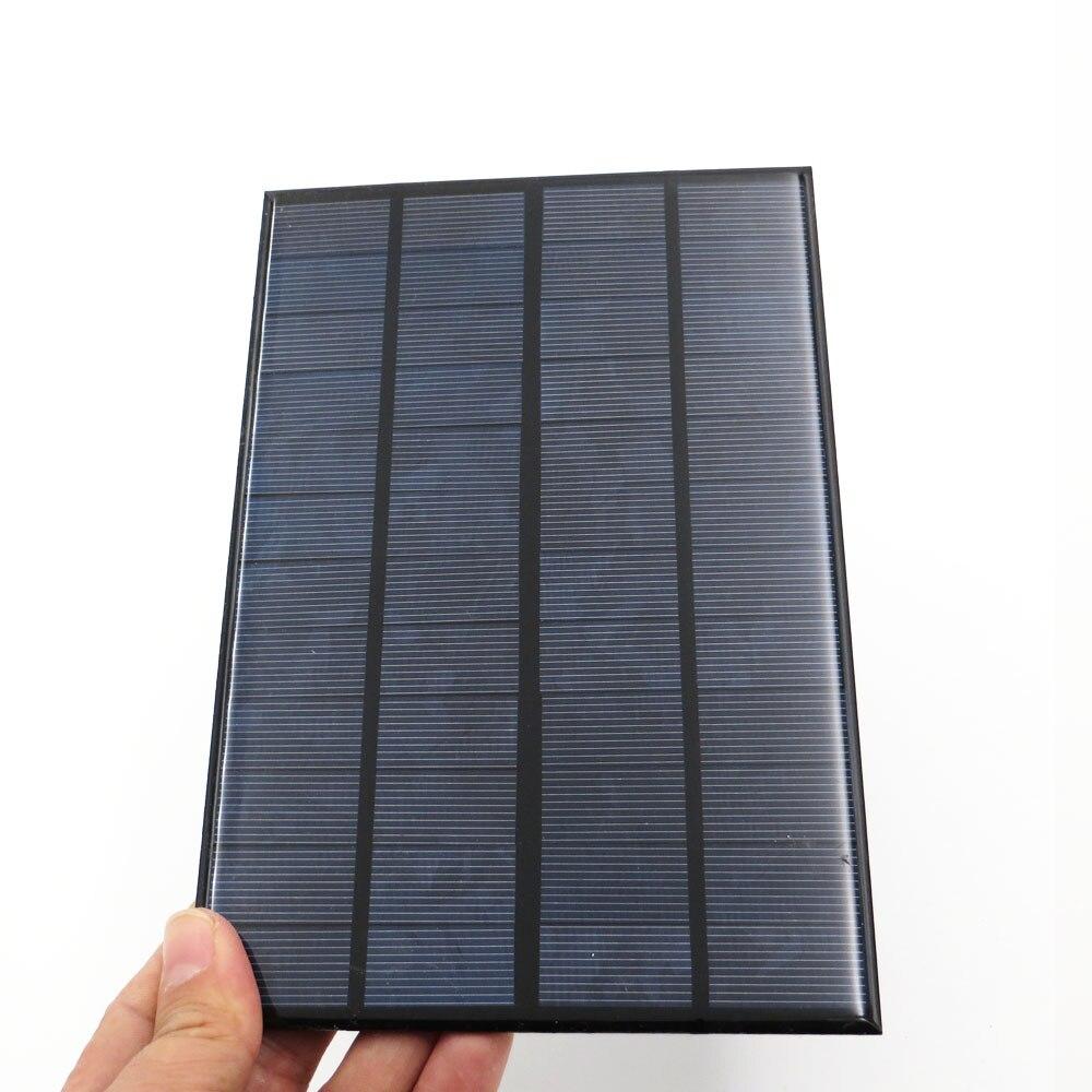 3W 9V mini module de panneau solaire chargeur de batterie polycristallin portable bricolage avec rendement /élev/é