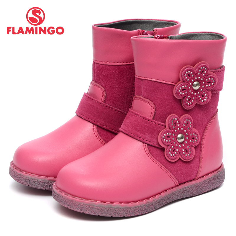FLAMINGO 2017 new collection autumn fashion kids high boots high quality anti-slip kids shoes for girls W6XY273/274/275<br><br>Aliexpress