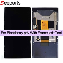"100% New Tested 5.4"" For BlackBerry Priv LCD Display Touch Screen Digitizer Assembly With Frame+Slider Replacement Parts(China)"