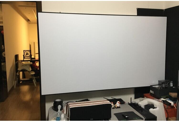 92inch matt white screen pic 9