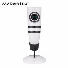 180 degree HD 720P wireless WiFi panoramic IP camera P2P e-PTZ Automatic Cruise two ways audio baby monitor security camera