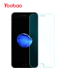 Yoobao I7M4 4.7-inch Anti Blu Ray Screen Protector 2-Pack Premium Tempered Glass High Definition Guard Film for iPhone 7(China)