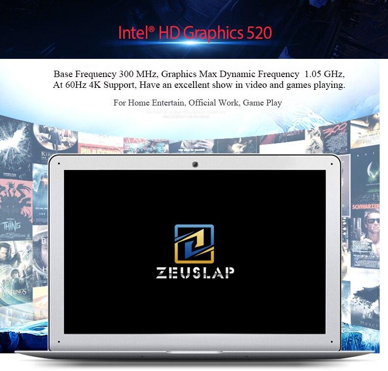 14 inch 4gb 8gb 16gb ram 128gb 256gb ssd gaming netbook ips ultrabook laptop intel core i7-6500U processor computer notebook