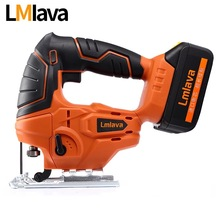 20V Cordless jig Saw Jigsaw electric power tools with High Capacity lithium Li-Ion Battery and Charger, Wood Metal saw(China)