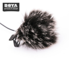 Outdoor MIC Furry Cover Windscreen Windshield Muff Lavalier Lapel Microphone Professional Accessories for RODE BOYA BY-M1 BY-WM4(China)