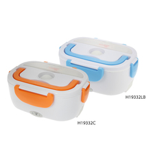 Electric Portable automobile heating bento food container lunch boxs with Food Warmer Electric lunchbox Heating(China)