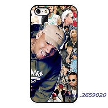 Chris Brown Singer Amazing Collage mobile phone cover case for iPhone 5 6S Plus 7 7Plus Samsung Galaxy S4 S5 S6 S7 edge