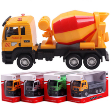 Hot sale truck model toys children plastic toys metal diecasts toy vehicles kids toy fire truck model vehicles 4 colors QC06(China)