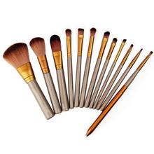 2016 HotTop-sale 12 Pcs Makeup Tools Kit Cosmetic Eyeshadow Lip Foundation Concealer Brushes Set  7D2P 8LWR