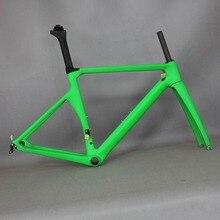 Carbon racing frame Carbon Road Frame Aerodynamic Design Carbon Road Racing Frame TT-X1 , child bike size girl bike