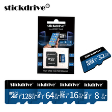 100% Real Capacity Flash Memory Card High Speed Micro SD 8 GB 32 GB Class 10 16 GB 32 GB 64GB 128GB For Mobile Phone Tablet(China)