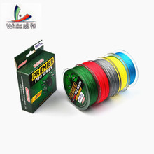 5 Pcs 100M Durable Fishing Line Mono Filament Stranded Fishing Line Japanese Brand 4 Wires From 6LB to 100LB Weaving Thread
