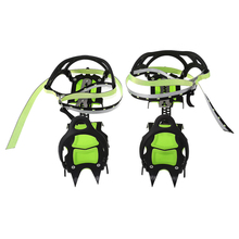One Pair of Bundled Crampons Professional Stainless Steel Ice Gripper Ice Crampons Snow Board For Skiing Climbing
