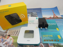 UNLOCKED ALCATEL Y855 3G 4G LTE MiFi Mobile WiFi Broadband Router Dongle yellow