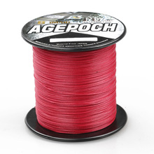 2016 Ocean Rock Floating Brand 100m 8 strand Red Fishing Line Material From Japan Braided Multifilament Fishing Line