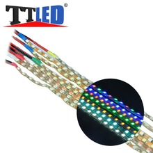 2015 New Hot Sale 60CM 3528 RGB SMD LED Strip Light waterproof Remote Controll Flexible Chasing LED Light #LO62