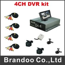 Taxi DVR Bus DVR Truck MDVR 4CH CAR DVR Kit