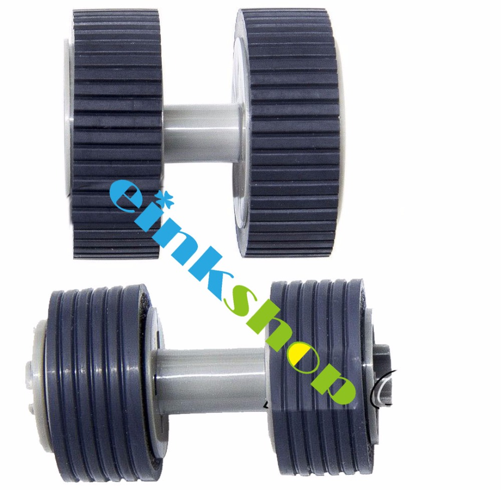 Brake and Pick Roller for Fujitsu 6130 Fi-6130 Fi-6130Z Fi-6230 Fi-6140 Fi-6240 Fi-6125 Fi-6225 IX500 PA03540-0001 PA03540-0002<br>