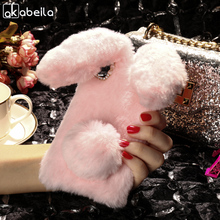 Buy AKABEILA Silicon Case Lenovo S850 Cases S850T S 850 Rabbit Hair Bling Diamond Soft TPU Cute Anti-knock Cover for $7.47 in AliExpress store