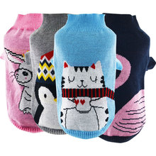 NEW Autumn Pet Dog Sweater Knit Clothes Cute Pet Cat Jumper Coat Clothing for Small Pet Size XS S M L XL