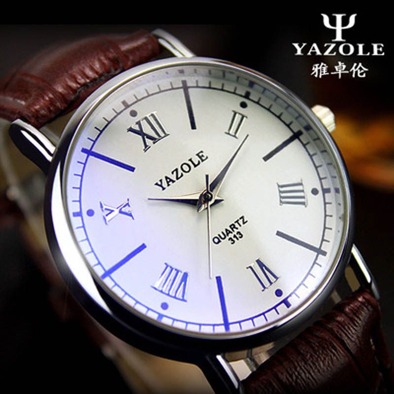 2016 Mens Watches  Roman classic  Quartz Watch waterproof Men Wristwatches Male Clock Wrist Watch Quartz-watch Relogio Masculino<br><br>Aliexpress