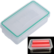 Newest 18650 Battery Case Holder Storage Box Hard Wear-resistant Plastic Case Waterproof Batteries Protector Cover Free Shipping
