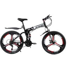 Altruism X9 Pro 21 Speed 26inch Mountain Bike Cycling Folding Bicycle For Mens Double Disc Brake Men's Bikes(China)