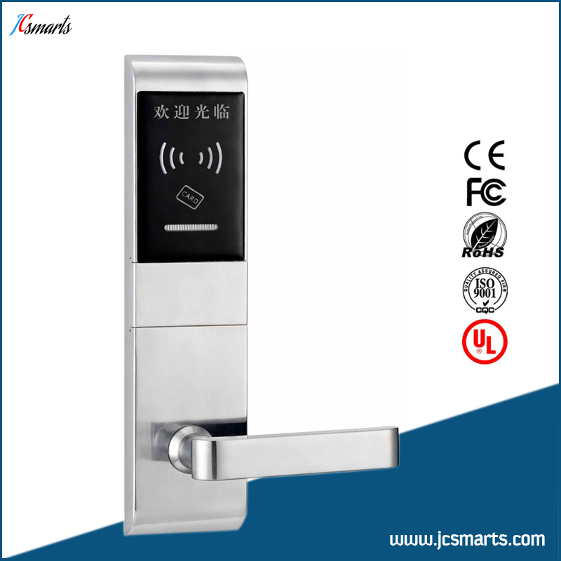 Wholesale zinc alloy hotel card rfid lock system<br>