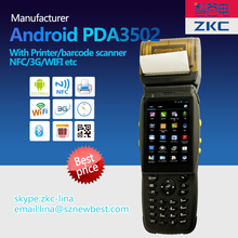 Rugged PDA device for warehouse and delivery solutions with built-in 1D or 2D barcode scanner, GPS, 3G and RFID(China)