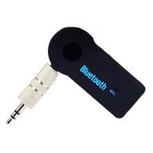Home Car Wireless Bluetooth Receiver Adapter 3.5mm HandsFree Car Kit MP3 Music Receiver
