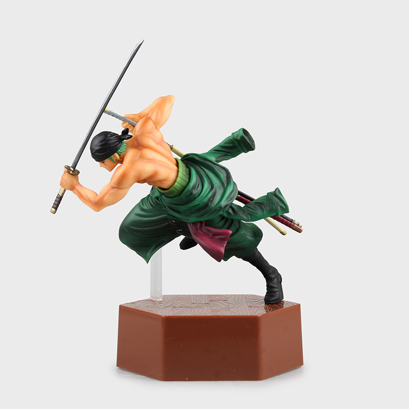 Hot-selling 1pcs 20cm pvc Japanese anime figure one piece Roronoa Zoro/Sanji action figure collectible model toys brinquedos<br><br>Aliexpress