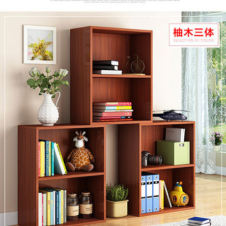 Bookcases Living Room Furniture Home Furniture panel three-layer bookcase  bookshelf whole sale 60* - Popular Closed Bookcase-Buy Cheap Closed Bookcase Lots From China