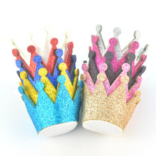 20 pcs/lot , Princess Glitter Crown , Great for DIY Hair Accessories