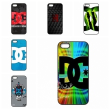 accessories Hard Skin Red DC Shoes Logo cell phone bags case cover for iphone 4S 5S 5C SE 6S 7 PLUS Samsung S3 S4 S5 S6 S7 IPOD