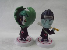 Naruto Anime Kisame Zetsu Action figures toy x 2 pcs #C