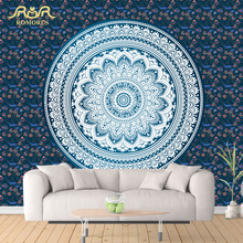 ROMORUS Mandala Tapestry Wall Hanging Carpet Wandkleed Fabric Mandala Blanket Wall Cloth Hippie Tapstries Bohemian Hot Yoga Mats(China)