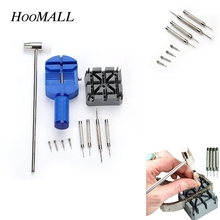 Buy Hoomall 11Pcs/Set Professional Watch Repair Tools Set Watch Link Remover Watch Band Belt Remover Watchmaker Tools Kits Home DIY for $5.56 in AliExpress store