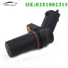 0281002315 New Crankshaft Position Sensor For Iveco Man MG RenaultT Volvo Truck(China)