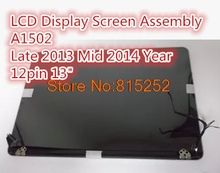 Laptop LCD Module(Touch+LCD Display Screen +Cover+Cable+Hinge) For APPLE A1502 MF839 MF840 MF841 2015/Late 2013 Mid 2014 Year