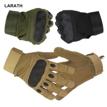 Full Finger Outdoor Sports Military Climbing Gloves Hunting Shooting Motorcycle Racing Warm Gloves(China)