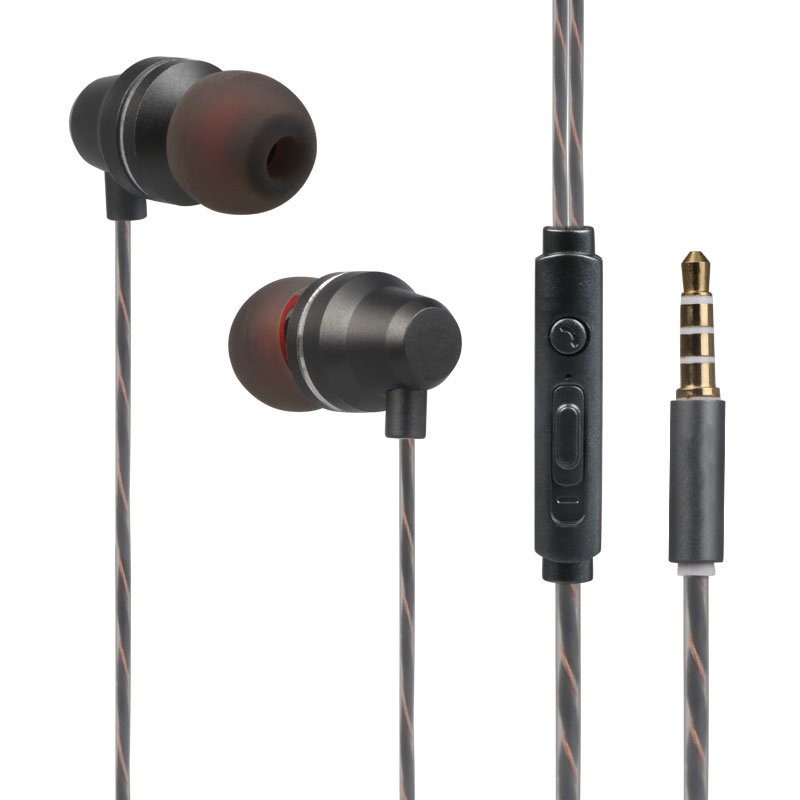 Headphone 3.5mm Music Earbuds Headset with Mic For Samsung Xiaomi iPhone MP3 PC Stereo Sport Gaming Not Bluetooth Earphones
