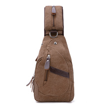 New Casual Women Canvas Chest Bag Vintage cross body Bags Shoulder Bags for Male Stylish Messenger Bags for Teenagers