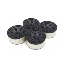 4PCS RC Crawler 1:10 Alloy Wheel Rim 1.9 Inch BEADLOCK for 1/10 Axial SCX10 TAMIYA CC01 RC4WD D90 RC Car Metal Wheel Hub Parts