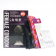 Ultra Thin Women Condom Pleasure More Female Condom Condoms Female Contraception Adult Sex Products for Horny Men