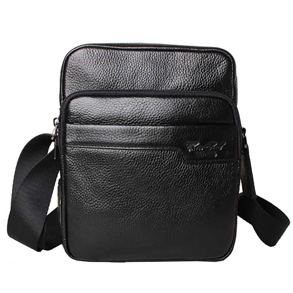 100% Genuine Leather Business Sling Shoulder Bag Men Satchel Cross Body Designer Real First Layer Cowhide Male Messenger Bags<br><br>Aliexpress