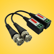 Twisted CCTV Video Balun Passive Transceivers 3000FT Distance UTP Balun BNC Cable Cat5 CCTV UTP Video Balun
