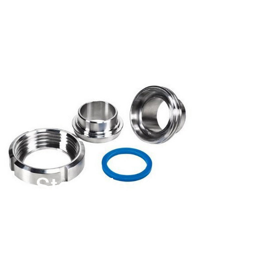 Free shipping 1 SS304 sanitary SMS union set(1 x Nut,1 x Liner,1 x Male,1 x gasket)  for Welding Ends Pipe Tubing Connection<br><br>Aliexpress