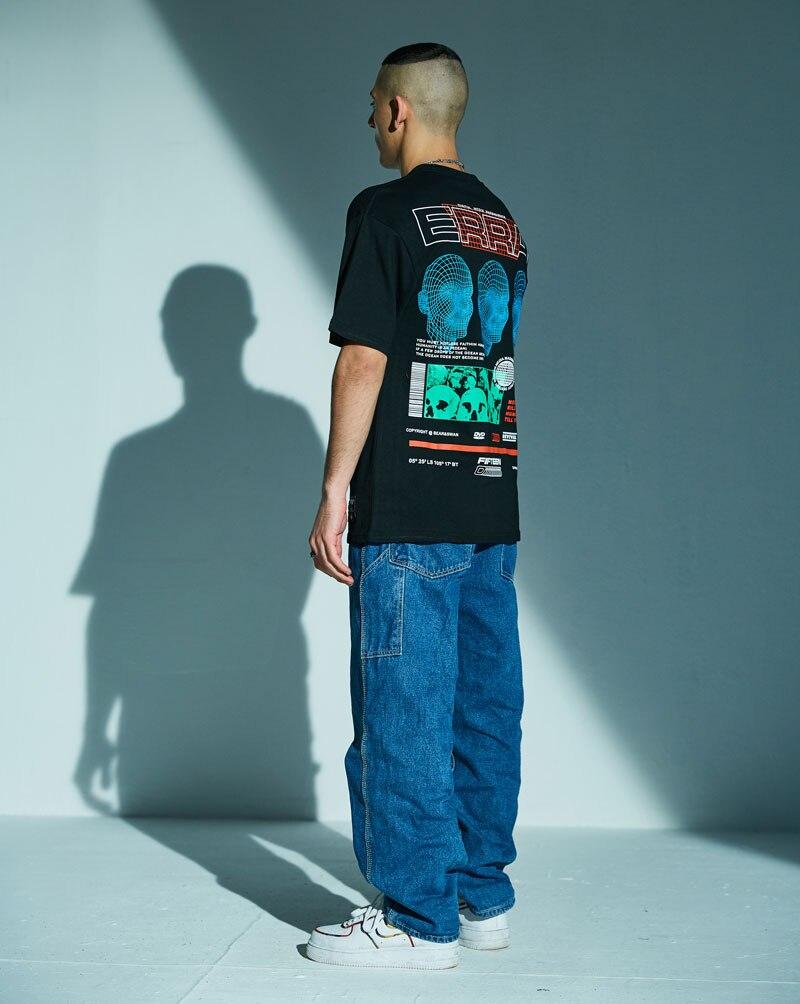 3D Line Printed Tshirts 2